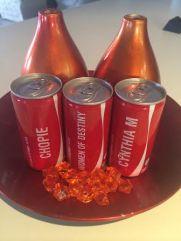 CM Coke bottles