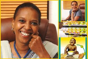 Marie Diongoye Konaté of Mali - produces African-crop cereals for infants